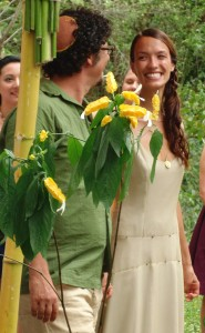 A beautiful wedding at an ecovillage in Costa Rica