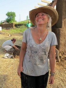 Penny Livingston Stark teaching permaculture in Turkey